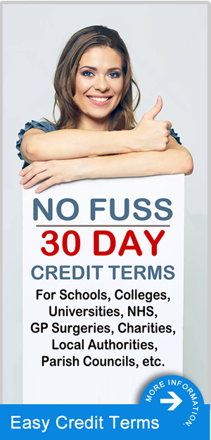 30 Day Credit Terms